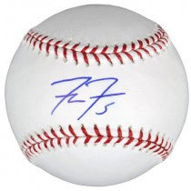 Freddie Freeman Autographed/Signed Official Rawlings Major League Baseball