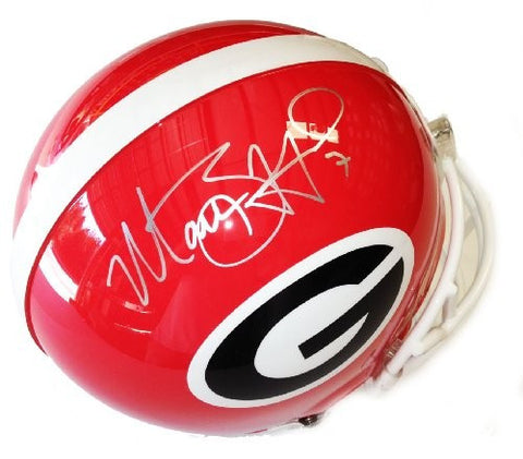 Matt Stafford Signed Autographed Georgia Bulldogs Authentic Pro Helmet