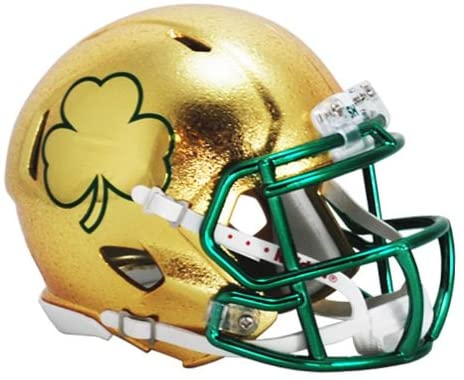 Notre Dame Fighting Irish 2013 SHAMROCK Series HydroFX Revolution Speed Authentic Full Size Texas