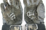 "Dansby Swanson Signed Game Used Nike MVP Batting Gloves With ""Game Used 2016"" Inscription"