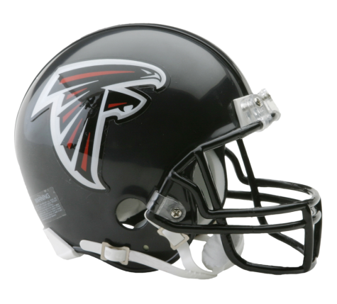 ATLANTA FALCONS VSR4 MINI HELMET