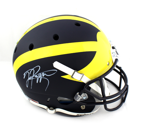Jabrill Peppers Signed Michigan Wolverines Schutt Full Size Helmet