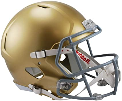 Notre Dame Replica Speed Football Helmet