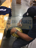 Jerome Bettis Signed Notre Dame Fighting Irish Schutt Full Size NCAA Helmet