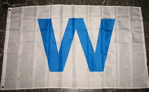 Chicago Cubs Win Wrigley Field 'W' Flag 3x5 Banner Flag