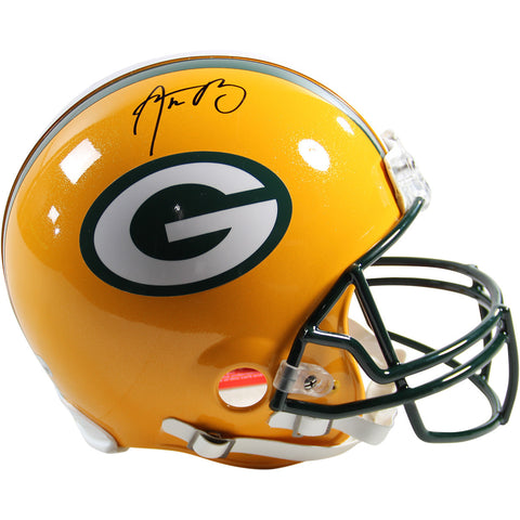 Aaron Rodgers Signed Green Bay Packers Proline Authentic Helmet (Fanatics & SSM) - Memorabilia - SPORTSCRACK