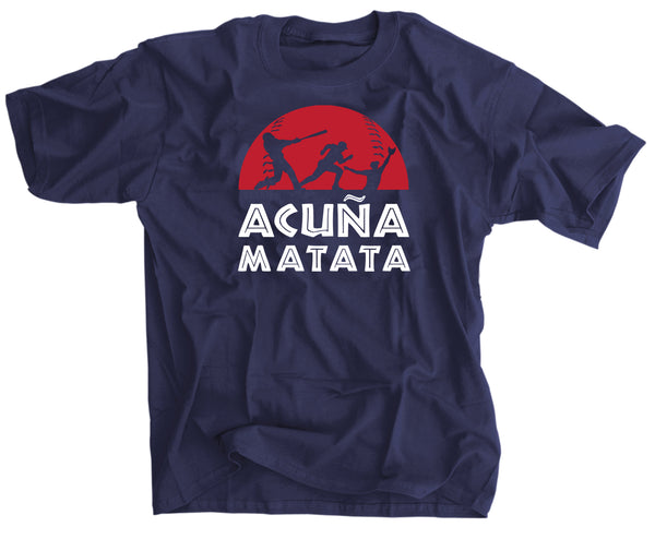 Ronald Acuña Matata Baseball Youth Kids Shirt