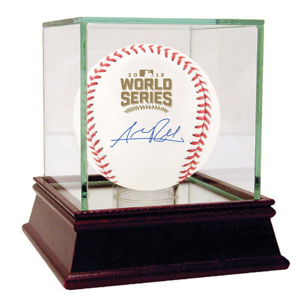 Addison Russell Signed 2016 World Series Baseball(Lojo/SSM)