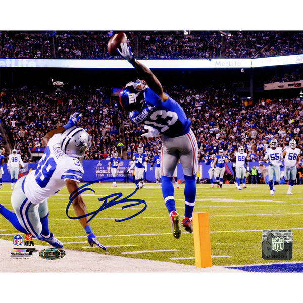 Odell Beckham Jr's Signed One-Handed Touchdown Catch 8x10 Photo - Memorabilia - SPORTSCRACK