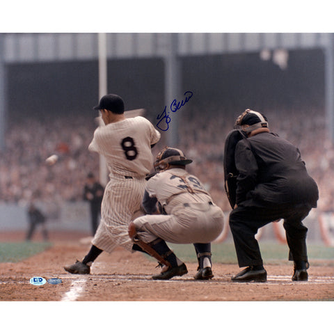 Yogi Berra Signed 16x20 Horizontal Color Photo LTD Auth