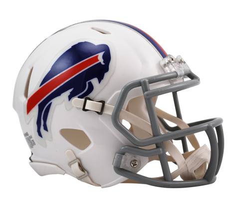 BUFFALO BILLS SPEED MINI HELMET
