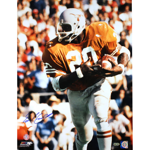 Earl Campbell Signed Texas Longhorns 16x20 Photo 2b3a340b8