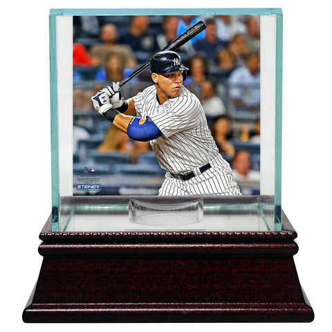 Aaron Judge New York Yankees Glass Single Baseball Case