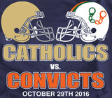 Catholics Vs Convicts 2016 Shirt -  - SPORTSCRACK - 2