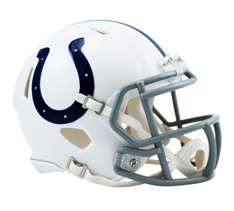 INDIANAPOLIS COLTS SPEED MINI HELMET