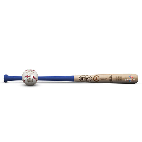 Chicago Cubs 2016 World Championship Bat & Ball Bundle