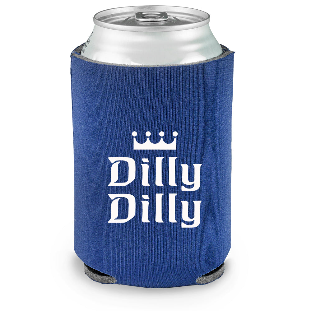 Dilly dilly beer can cooler koozie sportscrack for Shirts and apparel koozie