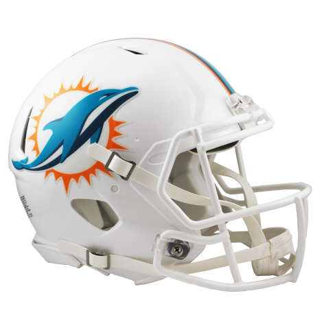 MIAMI DOLPHINS REVOLUTION SPEED AUTHENTIC HELMET - Helmet - SPORTSCRACK