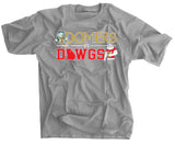 Domers Vs Dawgs Grey Shirt