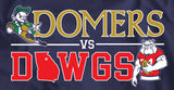 Domers Vs Dawgs Navy Shirt