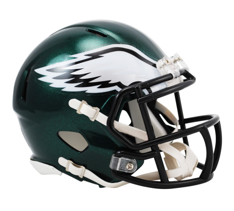 PHILADELPHIA EAGLES SPEED MINI HELMET - Helmet - SPORTSCRACK
