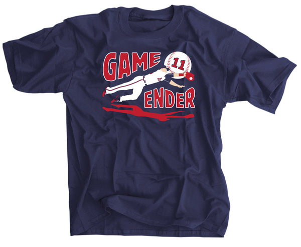 GAME ENDER ATLANTA BASEBALL SHIRT