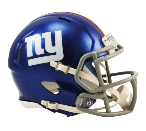 NEW YORK GIANTS SPEED MINI HELMET