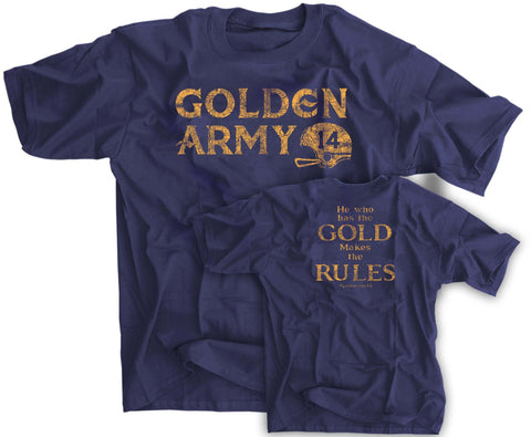 Golden Army 2014 Notre Dame Recruiting Class Shirt