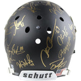 'COLLEGE FOOTBALL'S BEST' MULTI-SIGNED FULL SIZE BLACK MATTE REPLICA HELMET (24 SIGS)