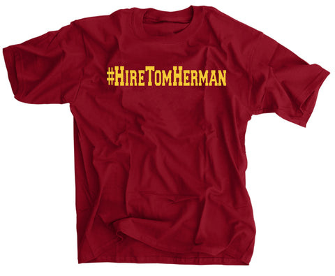 Hire Tom Herman Coach T-shirt for USC fans