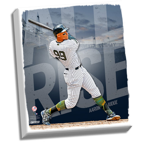 Aaron Judge New York Yankees 22x26 Stretched Canvas