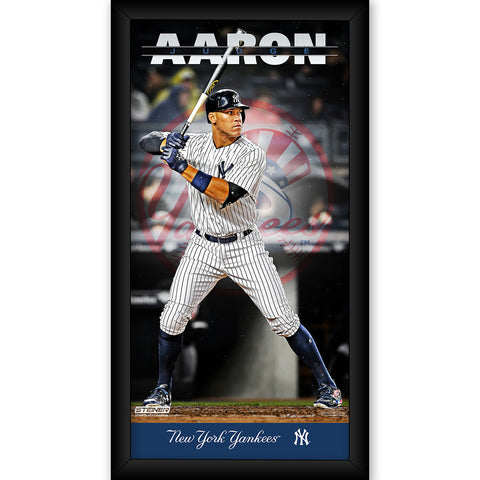 Aaron Judge New York Yankees 10x20 Player Profile