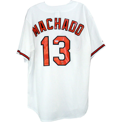 Manny Machado Signed Jersey (PSA/DNA Holo Only)