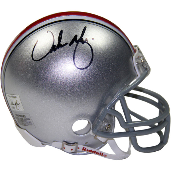 Urban Meyer Signed OSU Mini Helmet (Urban Meyer Auth)