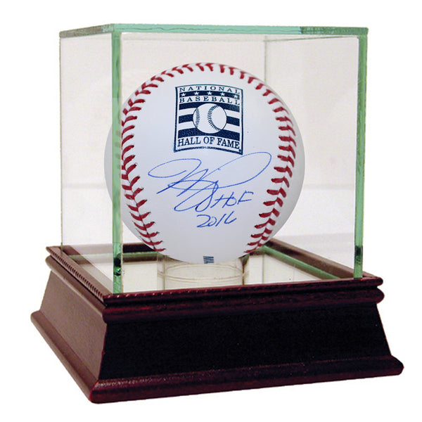 "Mike Piazza Signed HOF Logo Baseball w/ ""HOF 16"" Insc."