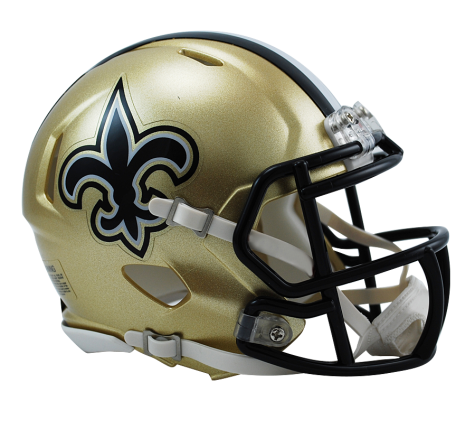 NEW ORLEANS SAINTS SPEED MINI HELMET - Helmet - SPORTSCRACK