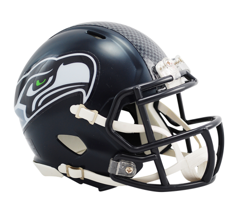 SEATTLE SEAHAWKS SPEED MINI HELMET