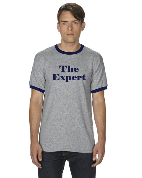 The Expert Barron Trump Ringer T-Shirt