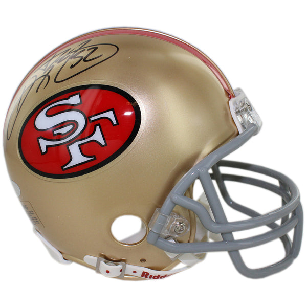 Ricky Watters Signed San Francisco 49ers Mini Helmet