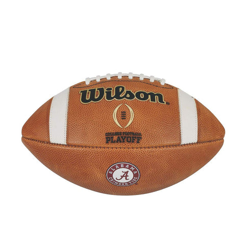 ALABAMA CRIMSON TIDE GAME MODEL AUTHENTIC WILSON COLLEGE FOOTBALL PLAYOFF FOOTBALL