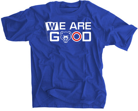 WE ARE GOOD CHICAGO BASEBALL SHIRT/HOODIE -  - SPORTSCRACK - 1