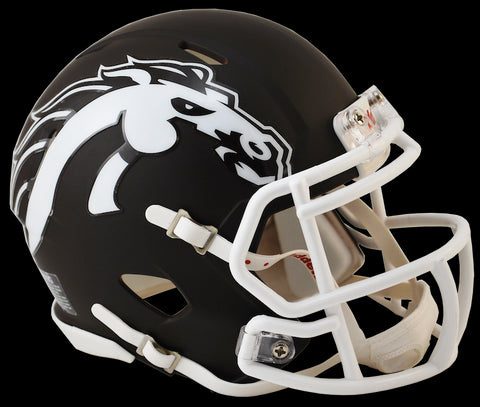 Western Michigan Broncos Mini Riddell Speed Helmet