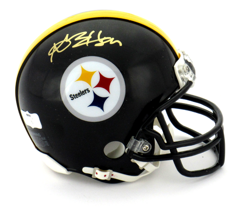 Antonio Brown Signed Pittsburgh Steelers Riddell Black NFL Mini Helmet - JSA