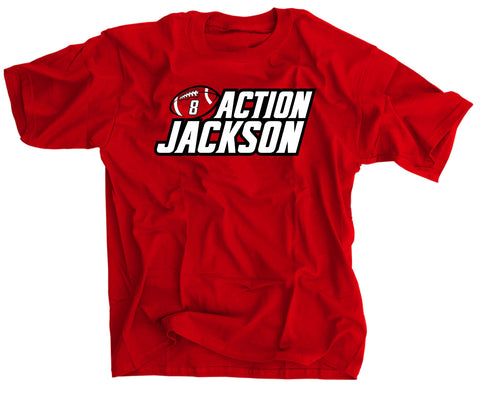 Lamar Action Jackson Louisville Football T Shirt