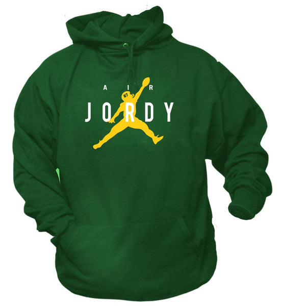 Air Jordy from Aaron Rodgers Green Bay Hoodie Sweatshirt