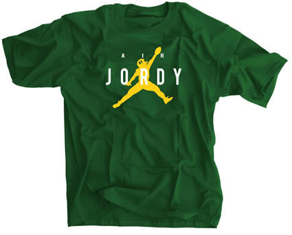 Air Jordy from Aaron Rodgers Green Bay Tshirt -- Sportscrack