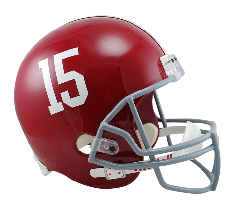 ALABAMA #15 VSR4 REPLICA HELMET