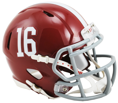 Alabama Crimson Tide Riddell Speed Mini Helmet - Helmet - SPORTSCRACK