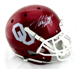Adrian Peterson Signed Oklahoma Sooners Schutt Authentic NCAA Helmet