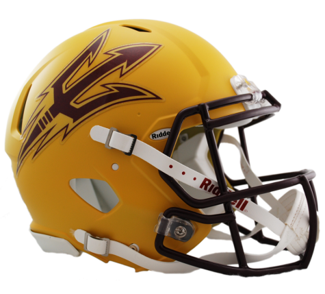 ARIZONA STATE GOLD REVOLUTION SPEED AUTHENTIC HELMET